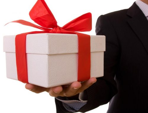 Is it really a good idea to give your patients gifts or is there a better way?